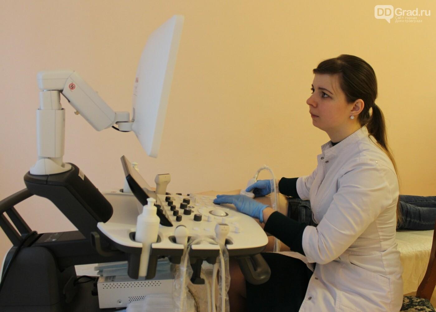 Многофункциональный аппарат для проведения УЗИ получила детская поликлиника №2, фото-3