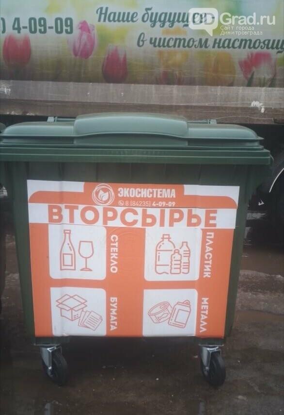 В Димитровграде стартовал эксперимент по раздельному сбору мусора, фото-2