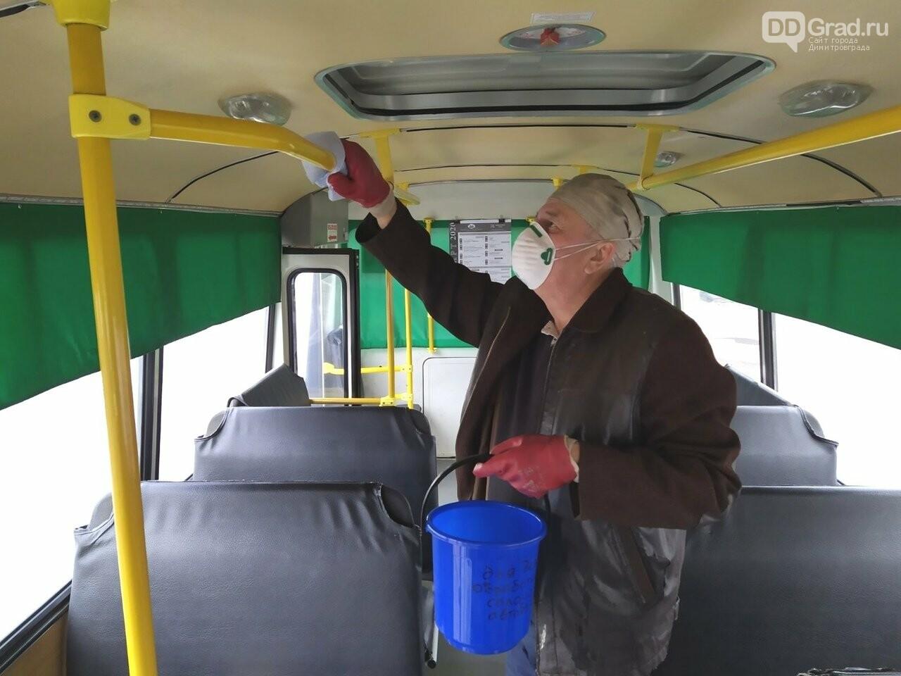 Общественный транспорт дезинфицируют дважды в день, фото-2