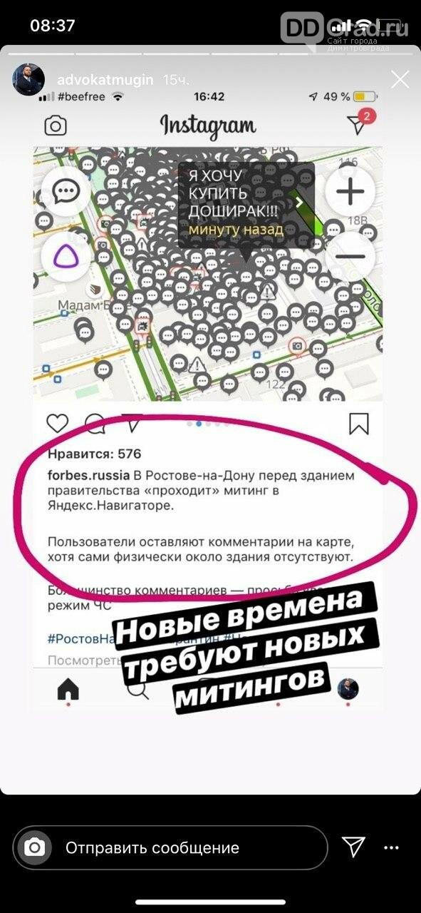 Виртуальный митинг докатился и до Ульяновска, фото-1
