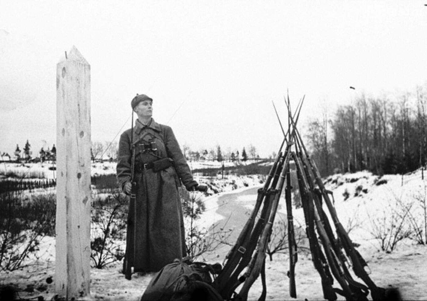 Праздничное построение в честь 102 годовщины дня пограничника в Димитровграде, фото-5