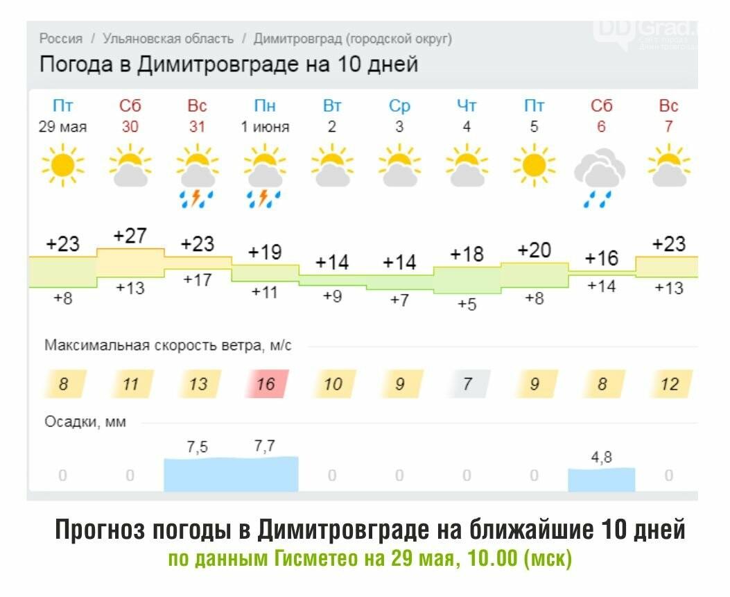 В Димитровграде похолодает до следующих выходных, фото-1