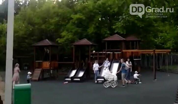 В Димитровграде зоны отдыха заполнены людьми, фото-4