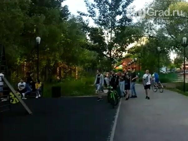 В Димитровграде зоны отдыха заполнены людьми, фото-3
