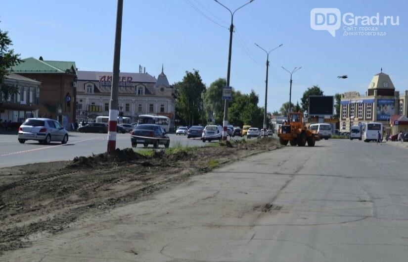 На главной улице Димитровграда проводятся ремонтные работы, фото-4