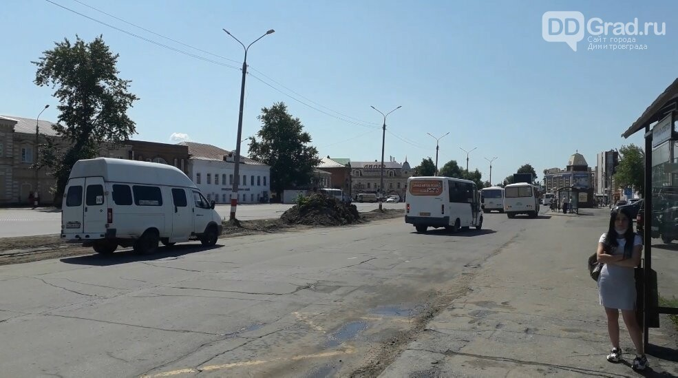 На главной улице Димитровграда проводятся ремонтные работы, фото-1