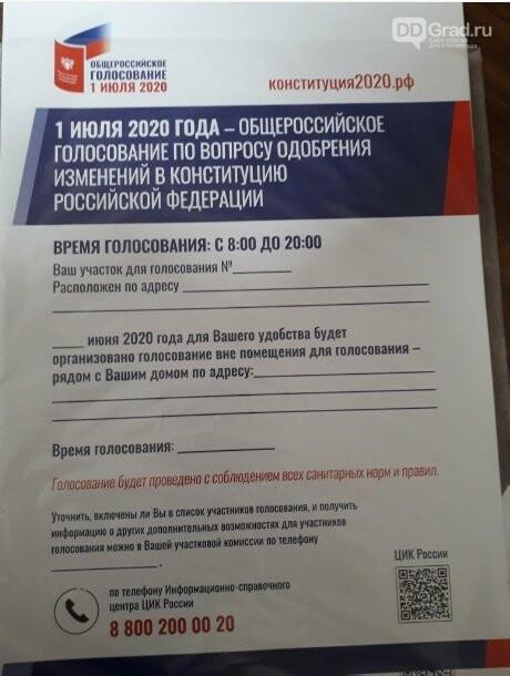 В избирательные комиссии Димитровграда поступили бюллетени для голосования по Конституции, фото-1