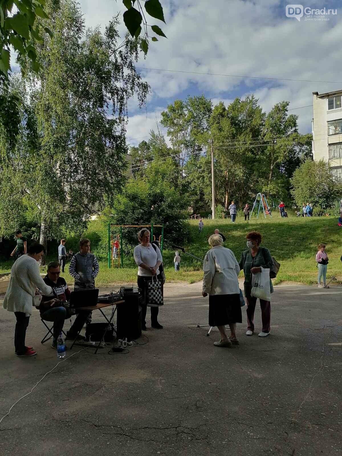 В Димитровграде голосование по Конституции проходит под открытым небом, фото-4