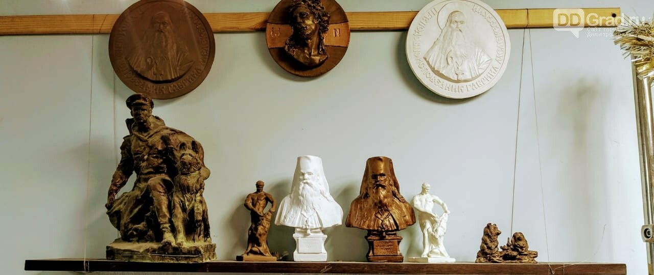 В гостях у димитровградского скульптора, фото-5