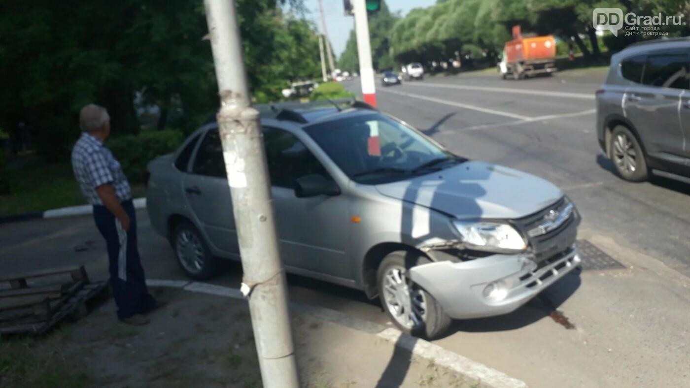 В Димитровграде на проспекте Автостроителей произошла авария , фото-1