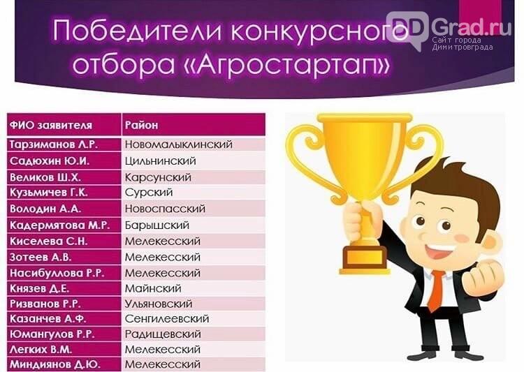 Пятеро жителей Мелекесского района стали победителями конкурсного отбора фермерских проектов, фото-1