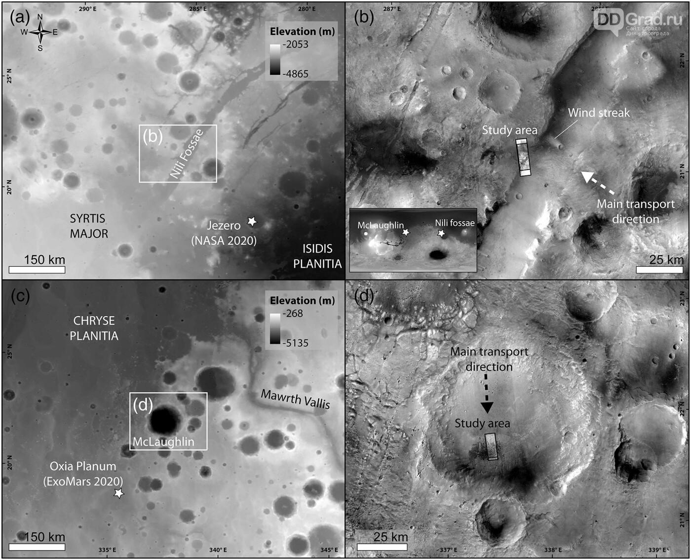 Учёные выяснили скорость движения песков на поверхности Марса, фото-2