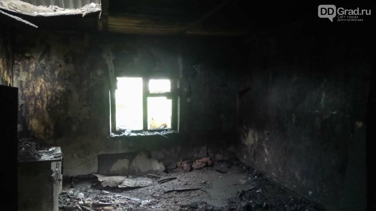 В Новой Майне сгорел жилой дом, фото-1