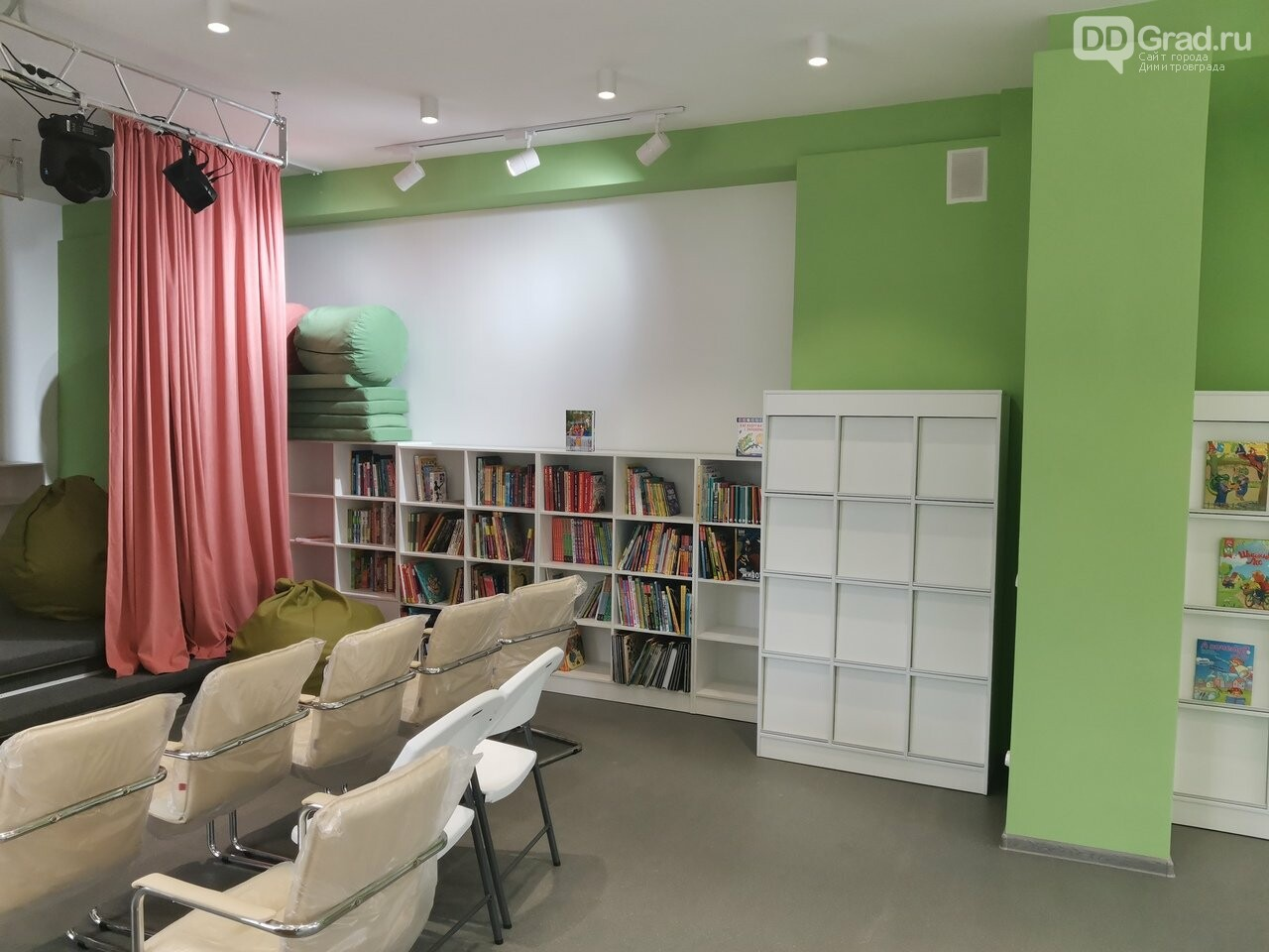 Все ремонтные работы в димитровградской библиотеке нового поколения завершены, фото-2