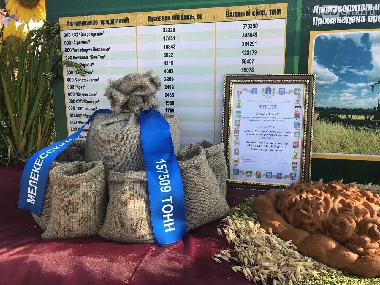 В Ульяновской области собрали более миллиона тонн зерна, фото-2
