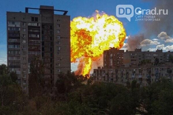 На заправке в Волгограде прогремел мощный взрыв, фото-1