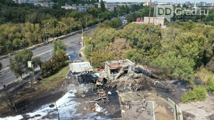 На заправке в Волгограде прогремел мощный взрыв, фото-3