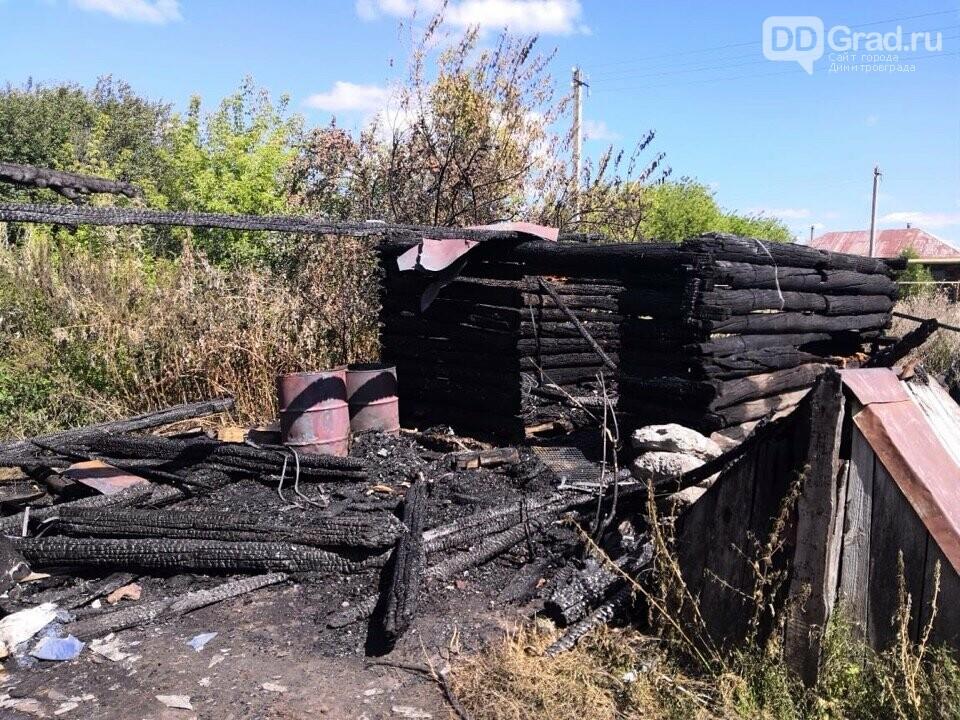 В Мелекесском районе потушили два пожара, фото-1