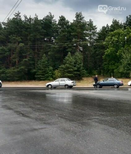 В Димитровграде сегодня рано утром произошла авария, фото-1