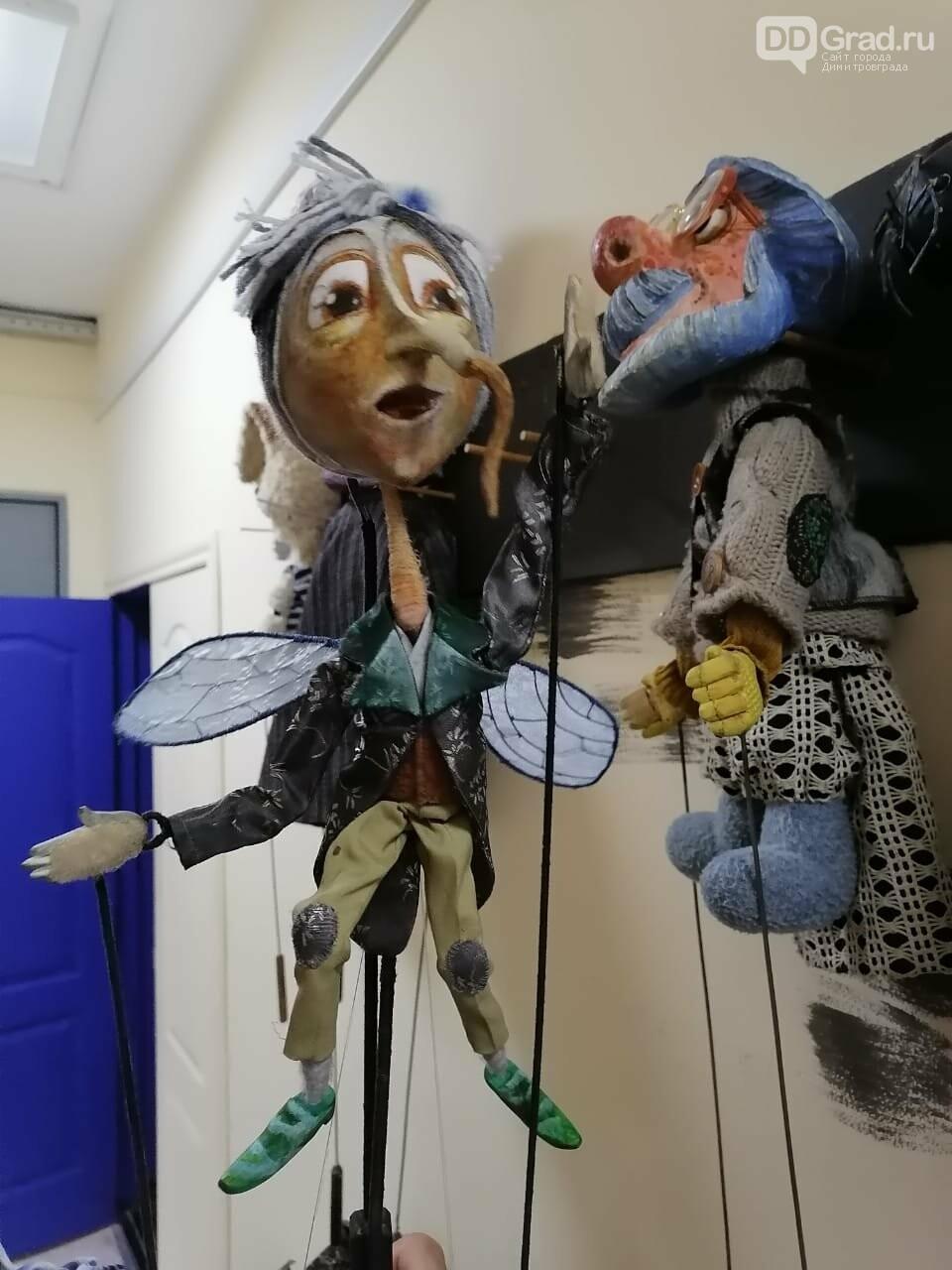 """В Димитровградском театре кукол состоится премьера нового спектакля """"Носорог и Жирафа"""", фото-4"""