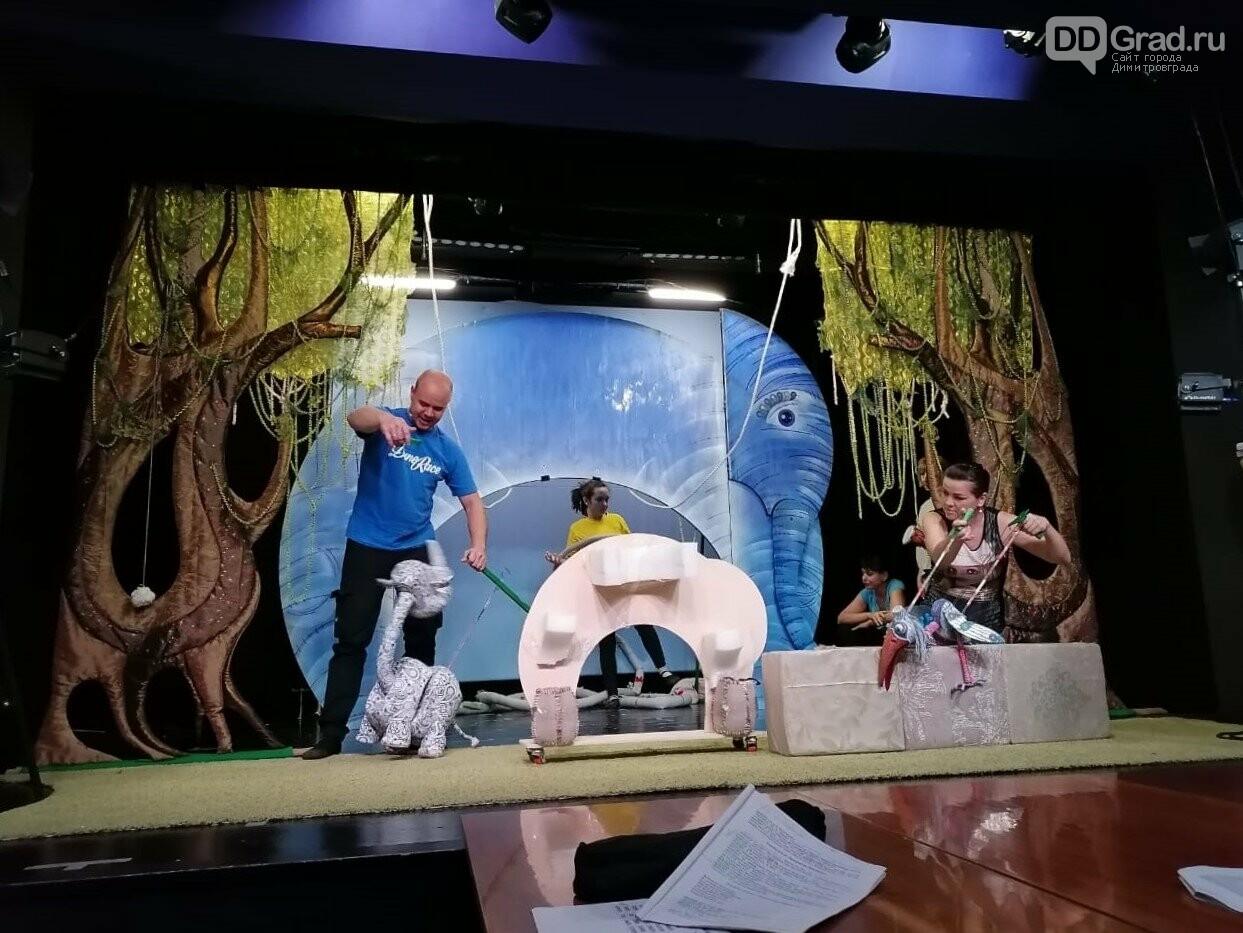 """В Димитровградском театре кукол состоится премьера нового спектакля """"Носорог и Жирафа"""", фото-9"""