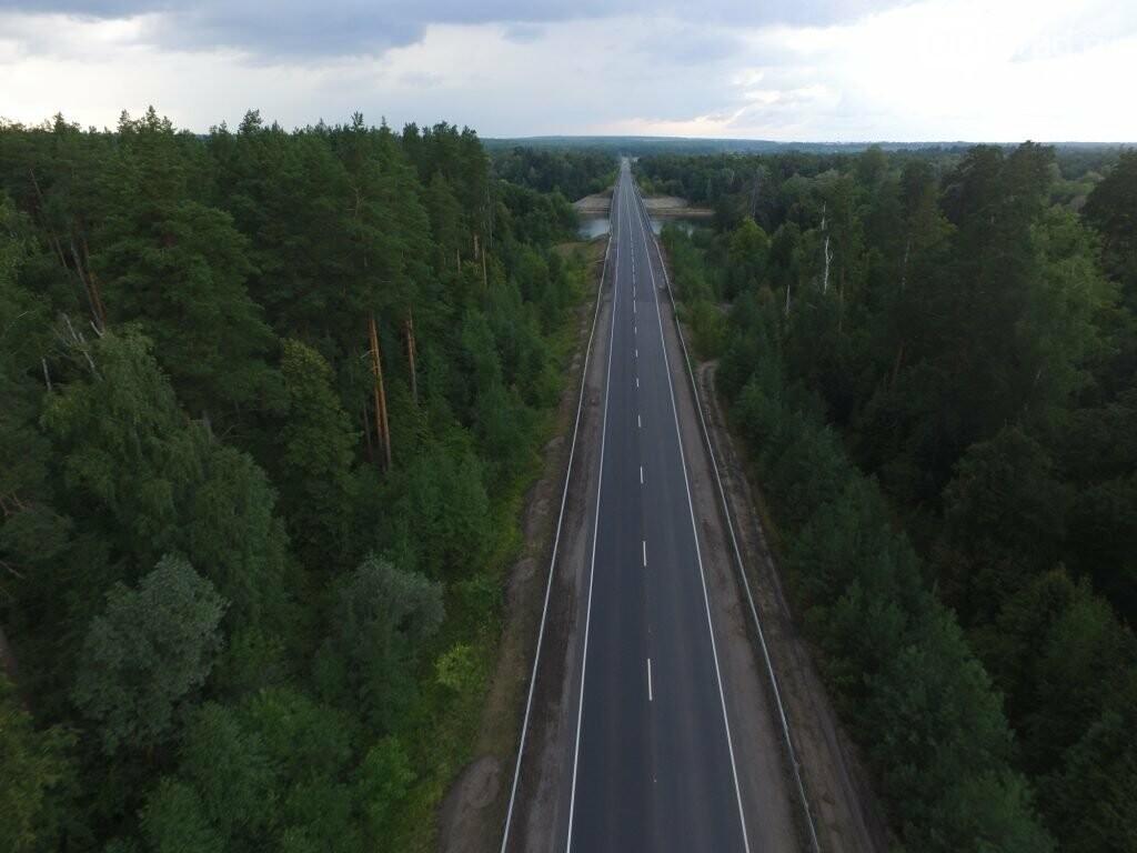 Завершены работы по обновлению асфальта на трассе «Ульяновск – Димитровград — Самара», фото-3