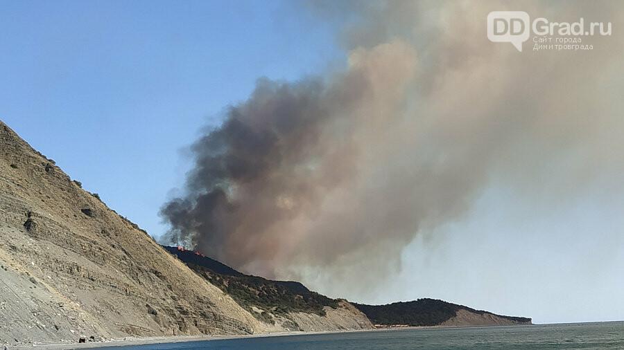 В Краснодарском крае горят заповедные леса, фото-3