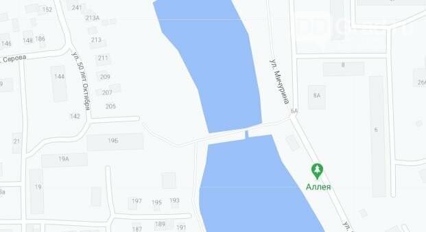 Пешеходная дамба на Верхнем пруду стала причиной возникновения экологических проблем в городе Димитровграде  , фото-2