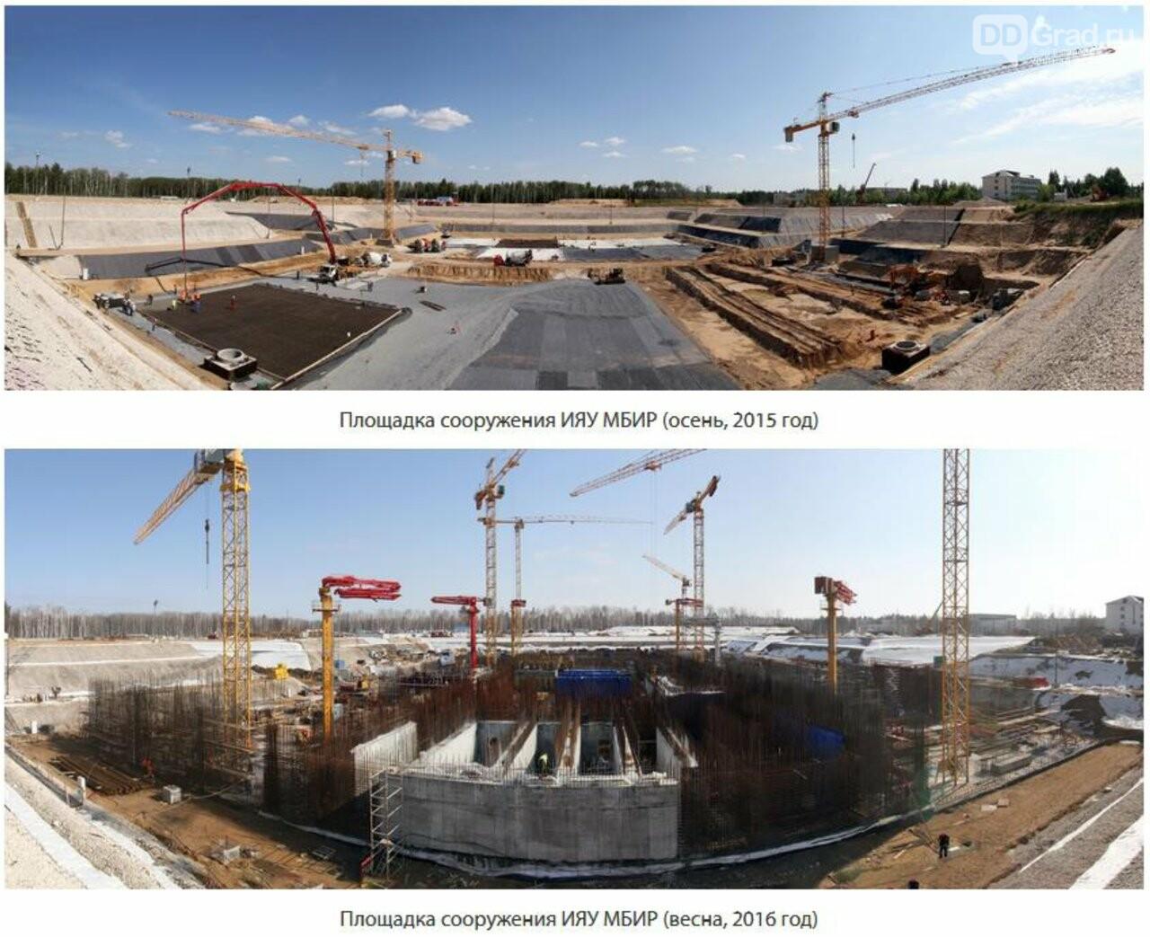 В Димитровграде продолжается строительство исследовательского реактора на быстрых нейронах, фото-2