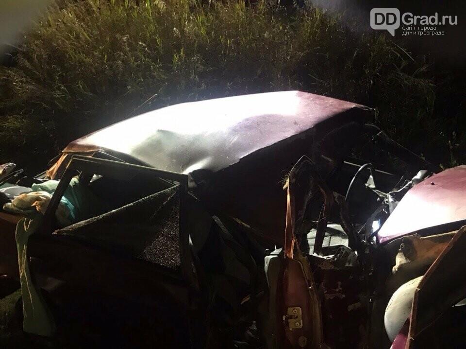 В результате ДТП в Мелекесском районе погибла мама двоих детей, фото-1