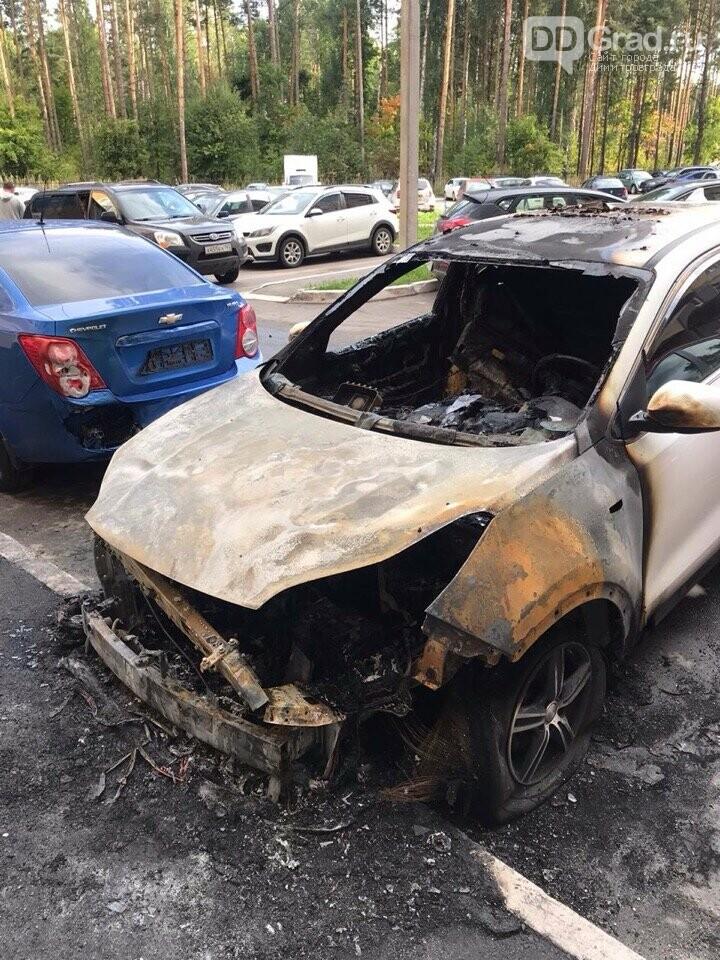 В Димитровграде сгорел автомобиль, фото-1