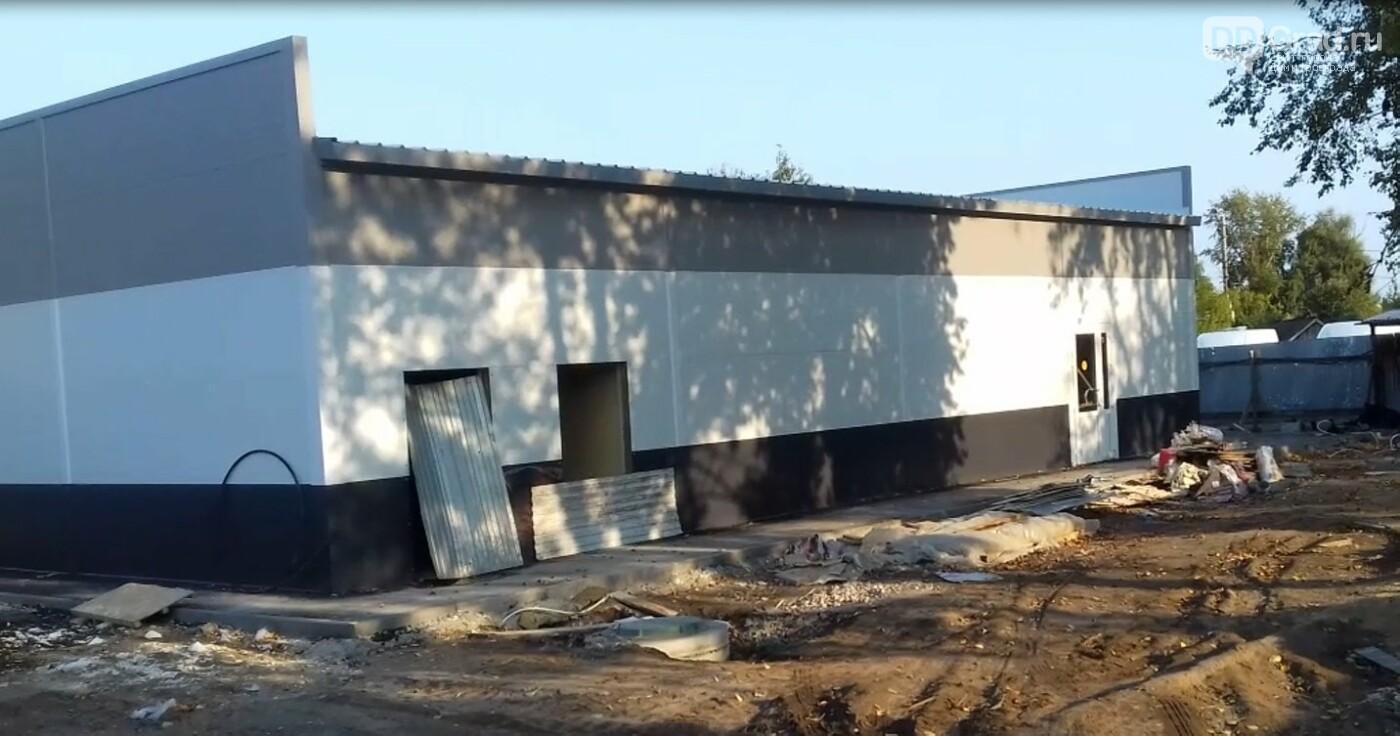 В Димитровграде продолжается строительство нового здания автовокзала, фото-4