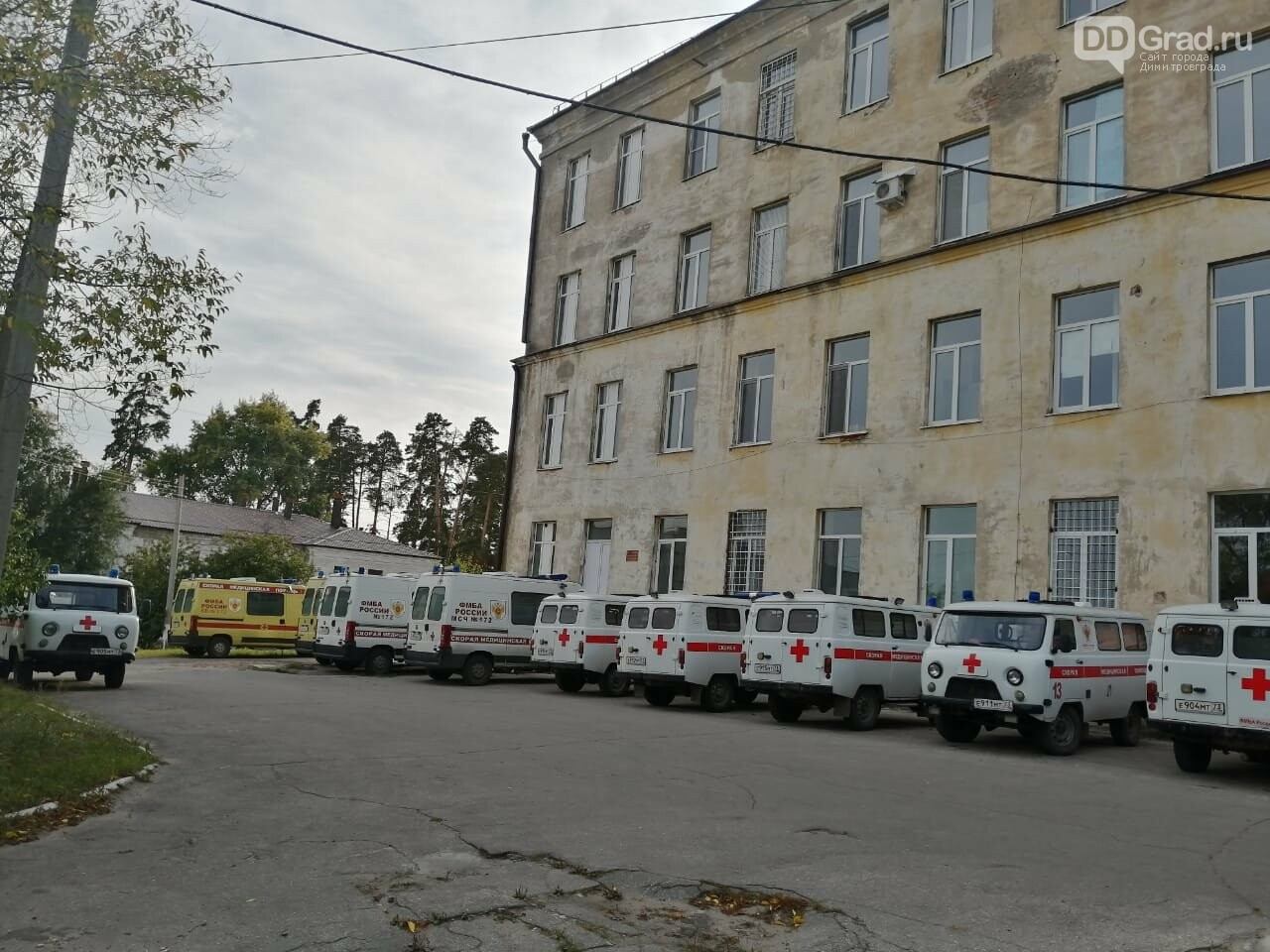 В Димитровграде переезжает городская Станция скорой медицинской помощи , фото-1