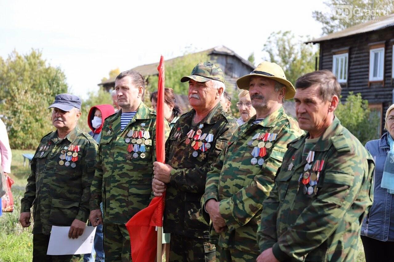 В Новочеремшанске установили стелу в память о погибших , фото-2