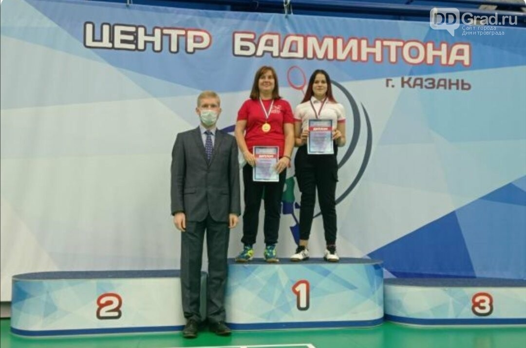 Димитровградские параолимпийцы стали победителями всероссийских соревнований по бадминтону, фото-1