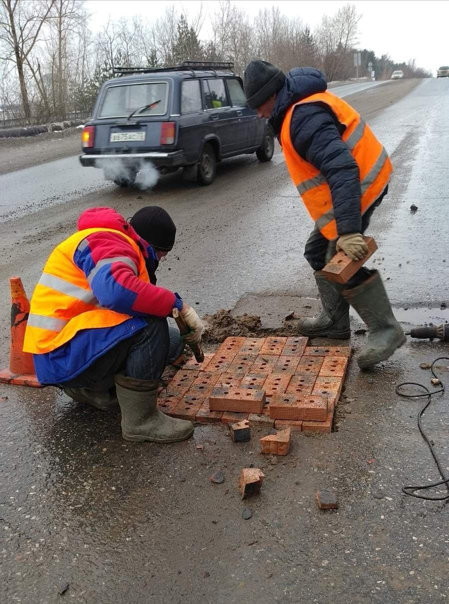 «Окирпичивание» димитровградских дорог – это временная мера, фото-1