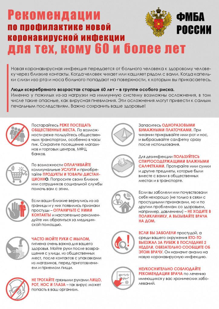 Коронавирус: ФМБА подготовило рекомендации для пожилых димитровградцев, фото-1