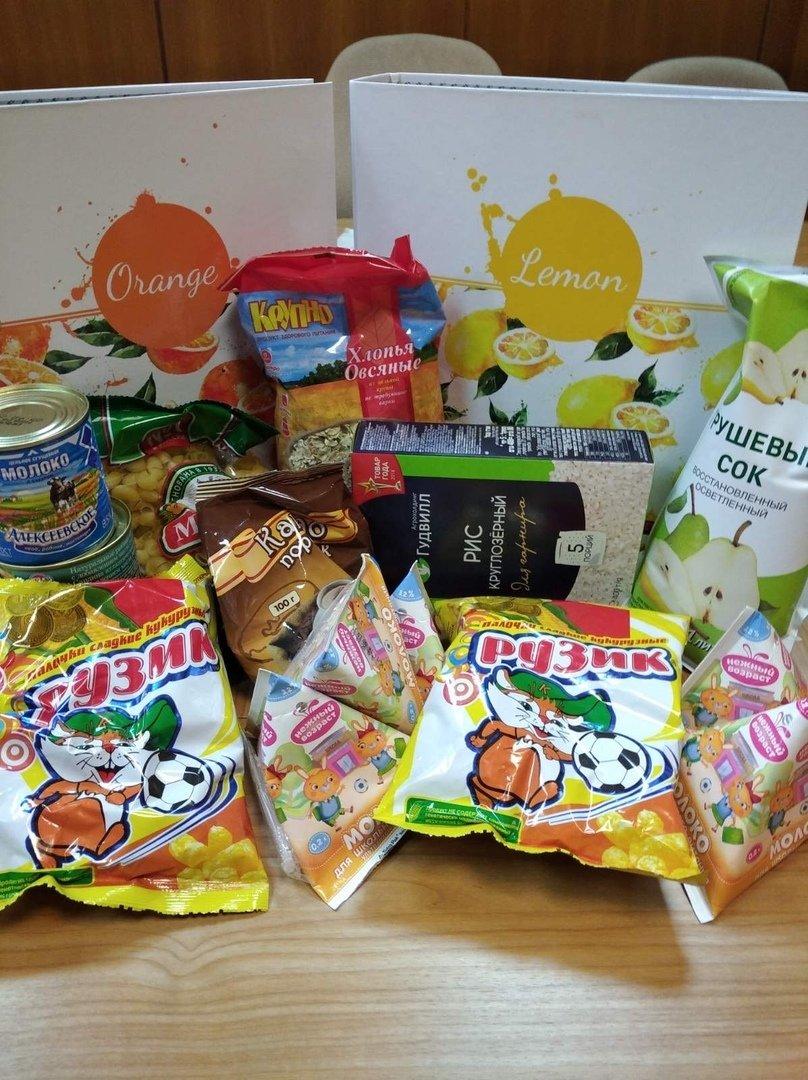 Димитровградских школьников обеспечили продуктовыми наборами, фото-1