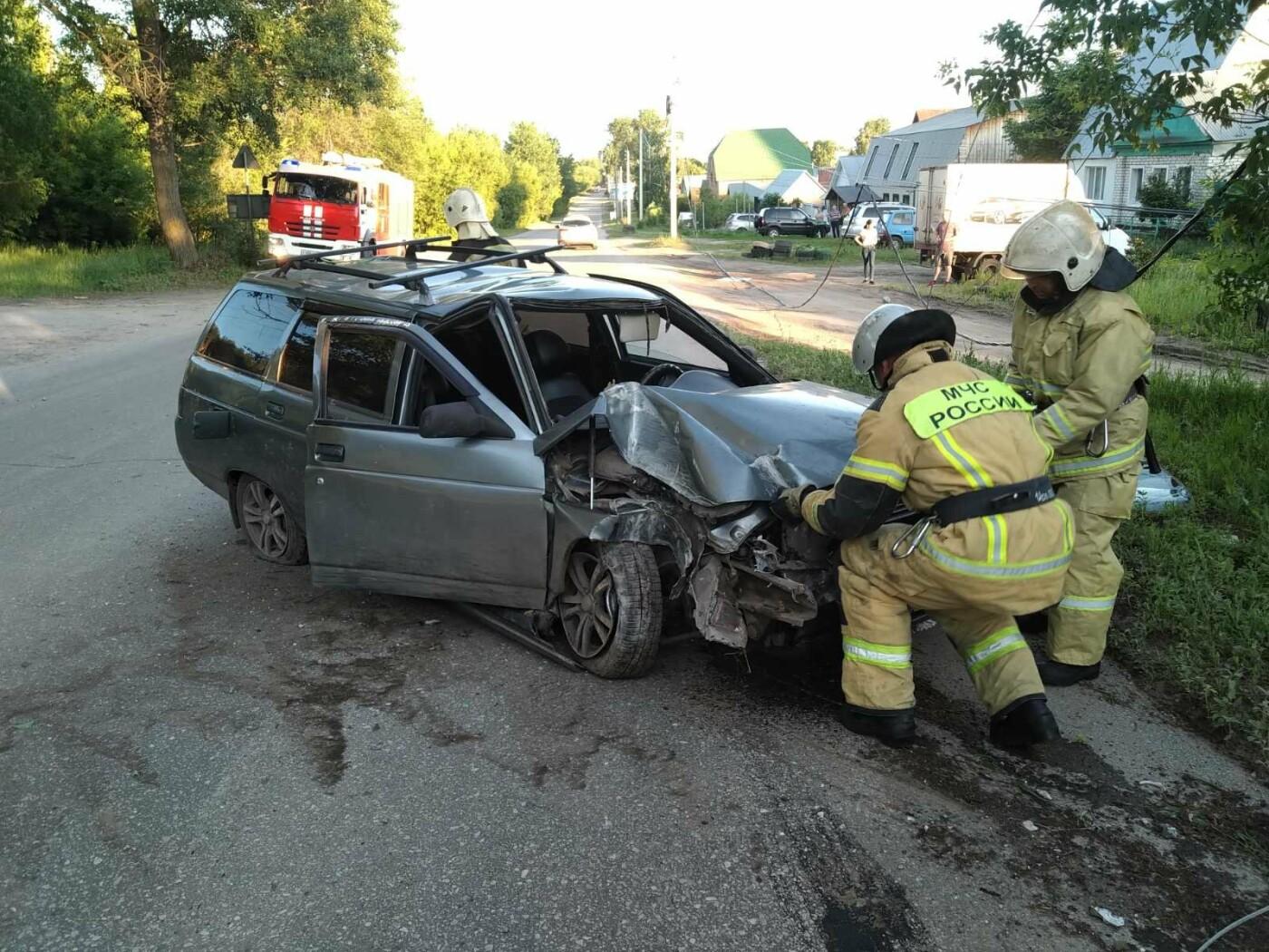Димитровградский водитель бросил пассажира и скрылся с места ДТП, фото-1, ПЧ-5